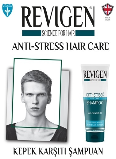 Revigen Anti-Stress Sampuan Kepekli Saçlar İçin 250 Ml Renksiz